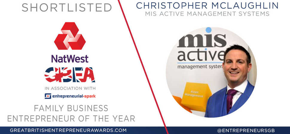 MIS AMS shortlisted for NatWest Great British Entrepreneur Awards