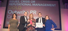 Digital PR agency Outwrite celebrates double success at top industry awards