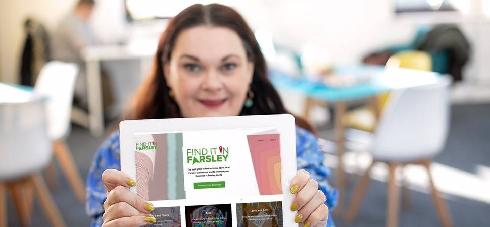 Leeds digital marketer launches shop local website for Farsley