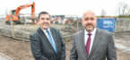Council Leader breaks ground for Anwyl Homes in Prescot