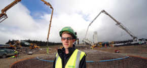 Jones Bros starts concrete pours at 27-turbine Clocaenog Forest Wind Farm
