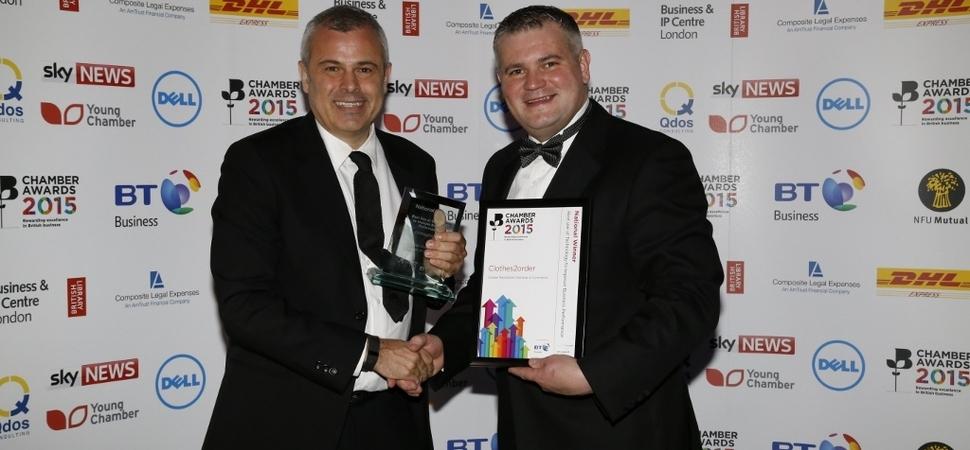 Clothes2order.com wins national technology award