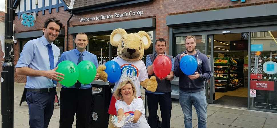 Co-op colleagues put best foot forward for children's hospice