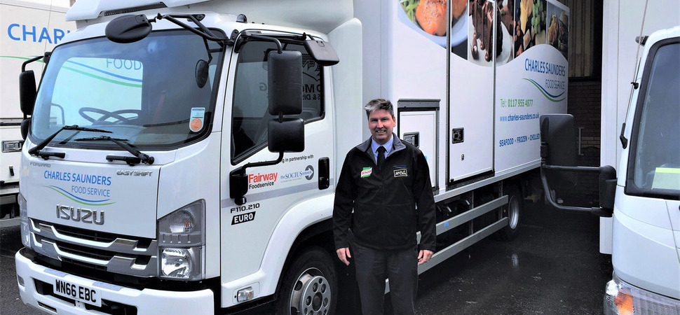 Foodservice company invests in new trucks on the back of growth