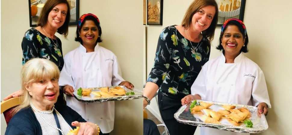 Local chef brings a taste of India to Epsom care home