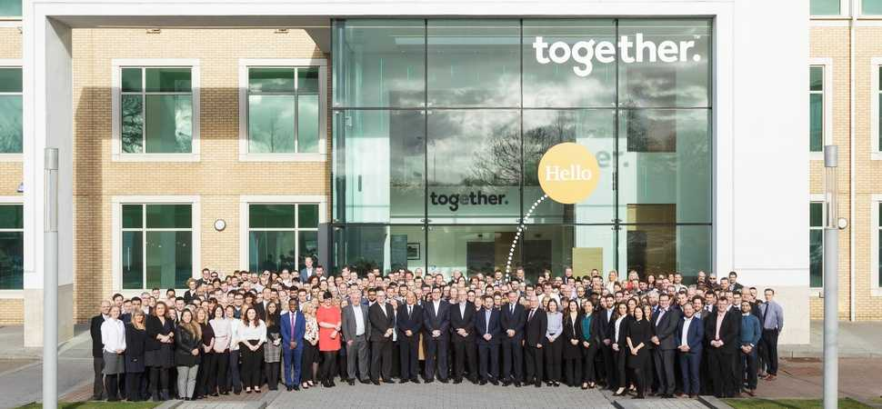 Together named as one of the UKs best 100 companies