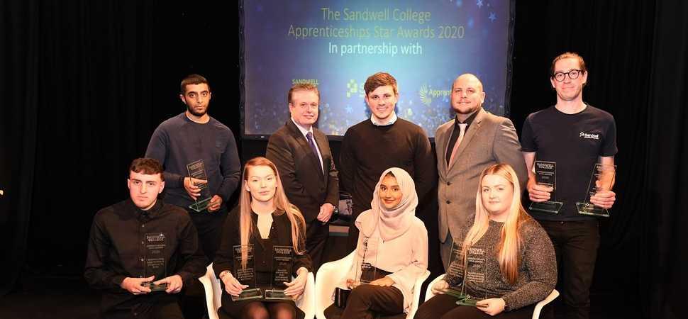 Rising stars shine at Apprenticeship Awards ceremony