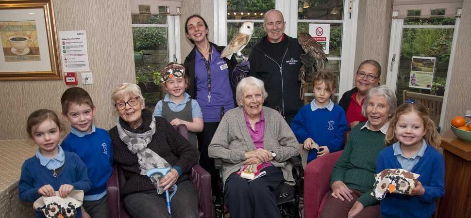 Halstead care home residents take birdwatch weekend to the nest level
