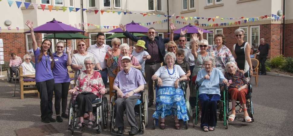Halstead care home hosts summer street party