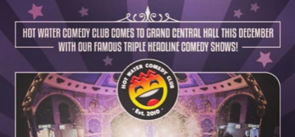 Hot Water Comedy Club in the Grand Central