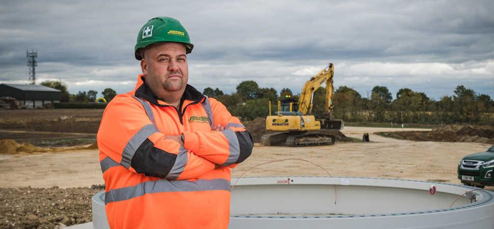 Jones Bros on track with renewables development in Cambridgeshire