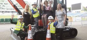 Caddick Construction supports author book launch