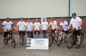 Conlon Charity Cyclists Get Set For The Way Of The Roses