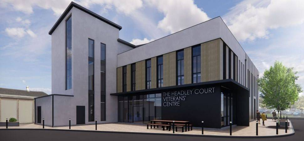 Work gets underway on pioneering centre for military veterans