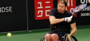 AceOn serves up battery pack for Paralympic Tennis Star
