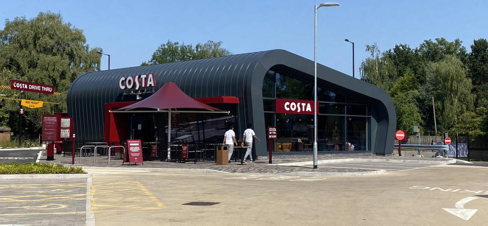 Costa Coffee Opens at Pebble Mill