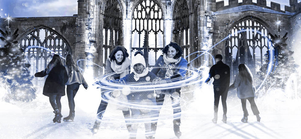 Coventry Cathedral Ruins to be transformed into magical ice rink