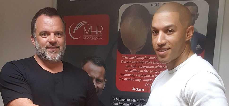 England Team Barber to Open SMP Studio at Giggs' Cheshire Hair Transplant Clinic