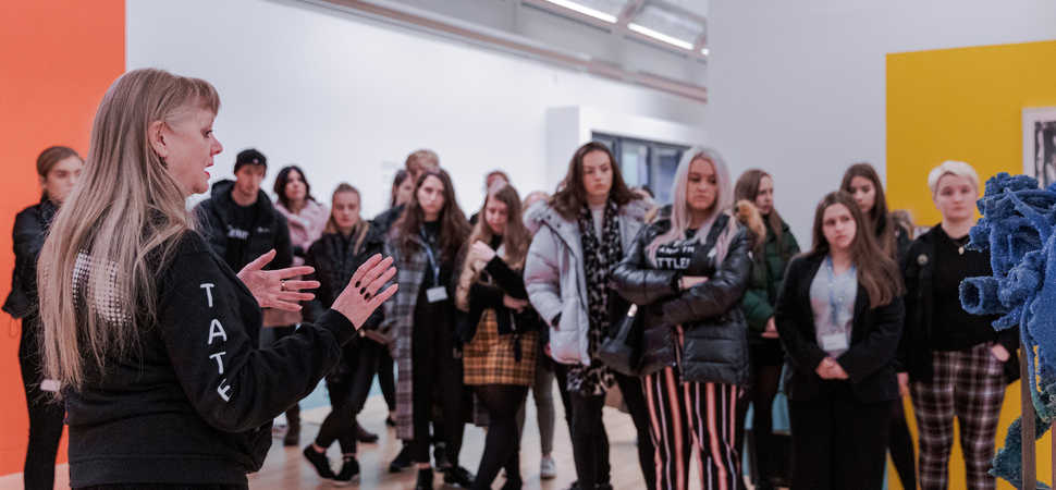 The City of Liverpool College and Tate Liverpool collaborate to promote creative careers