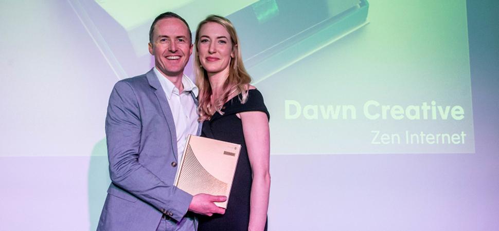 Dawn collects global Creativepool award