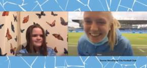 Virtual mascot experience for Manchester Francis House hospice sibling