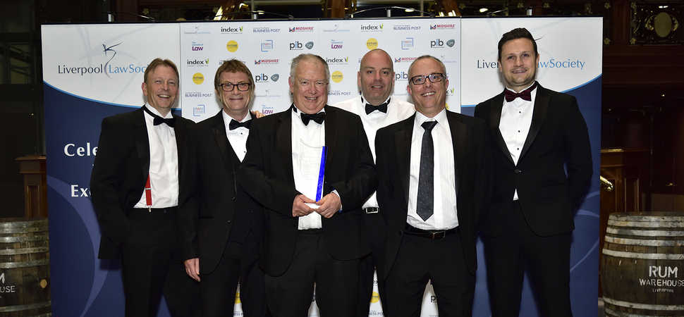 BLJ Solicitors takes home trophy at Liverpool Law Society Legal Awards