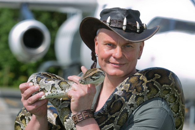 Manchester Airport's Runway Visitor Park welcomes Crocodile Joe this summer