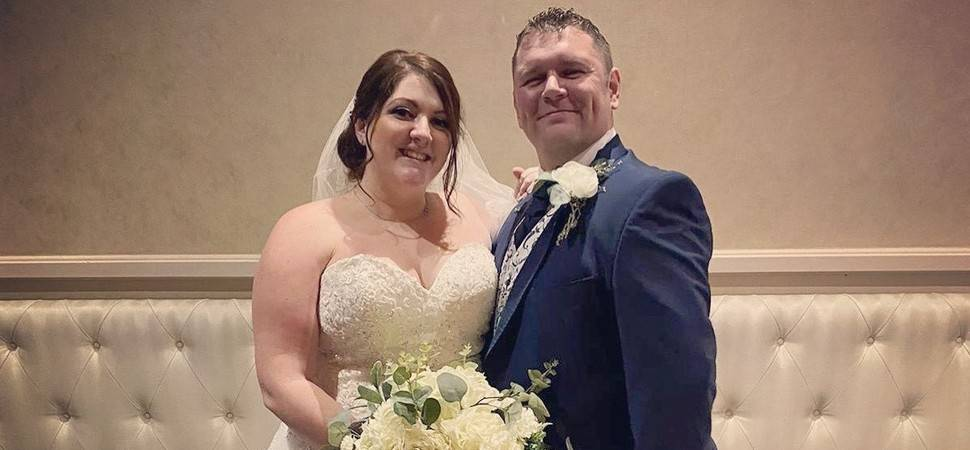 48-hour wedding as happy couple tie knot at Bannatyne Hotel Darlington