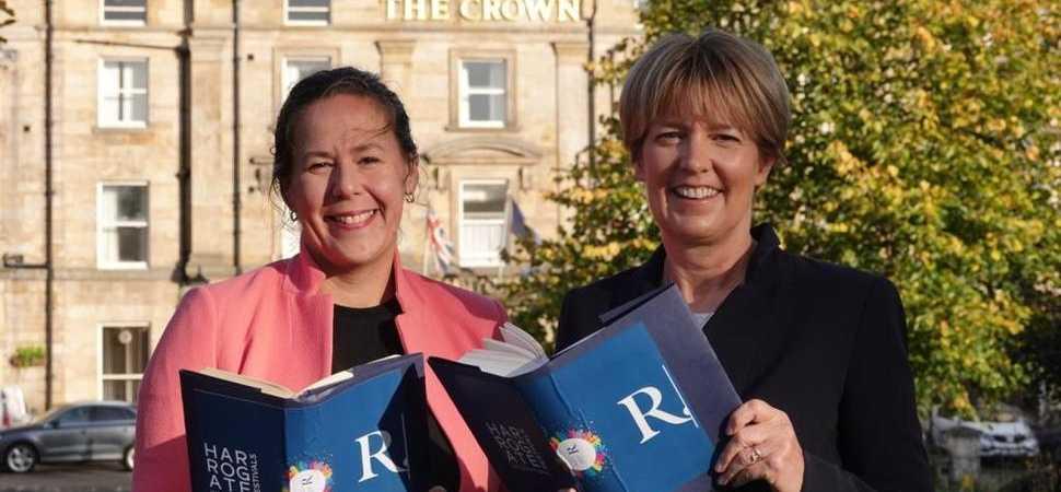 Royal thread running through this year's Raworths Harrogate Literature Festival