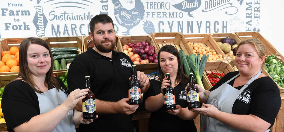 Entrepreneurial farming family launches Rhondda's first farm shop