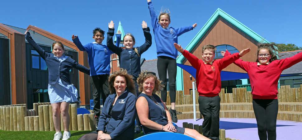 Three Holyhead schools reopen on flagship super school site