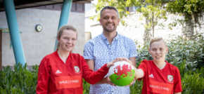 Chloe and Jade set to represent Wales at Homeless World Cup