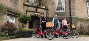 Leasowe Castle rides in to springtime