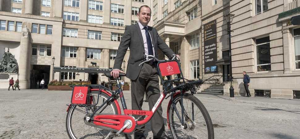 Bike & Go's Christmas gift helps workers to beat the bulge