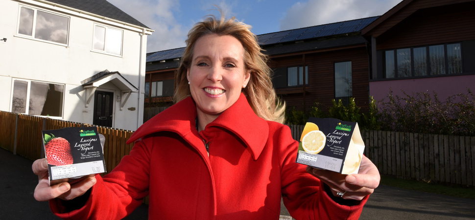 Food manufacturer praises rural enterprise centre for keeping jobs locally