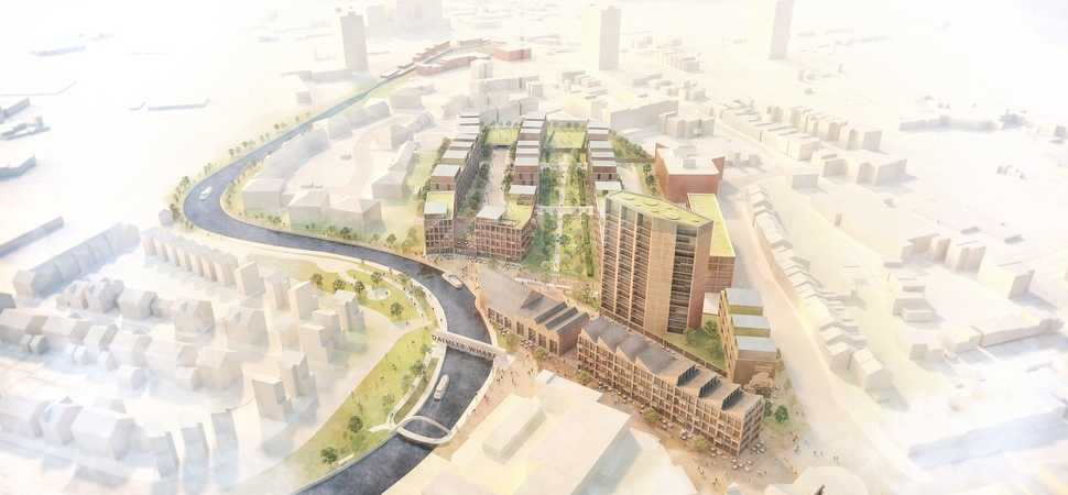 First image of plans for new Coventry neighbourhood