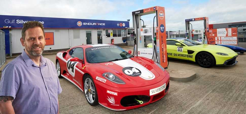Suresite keeps fuel levels on track at Silverstone