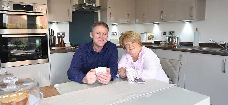 Portsmouth couple relocate up North for dream home