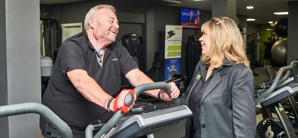 Cancer survivor helped to return to physical fitness with support of Bury St Edmunds health club
