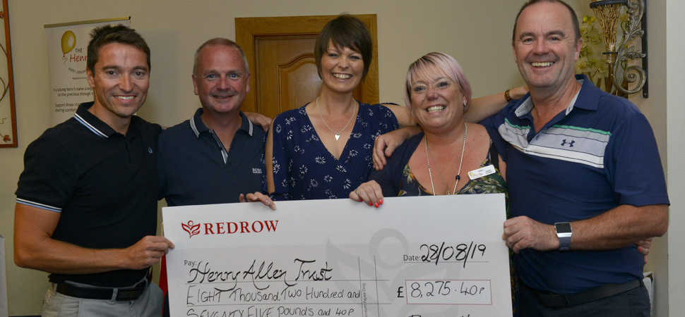Hole in one! Northampton housebuilder supports children's charity