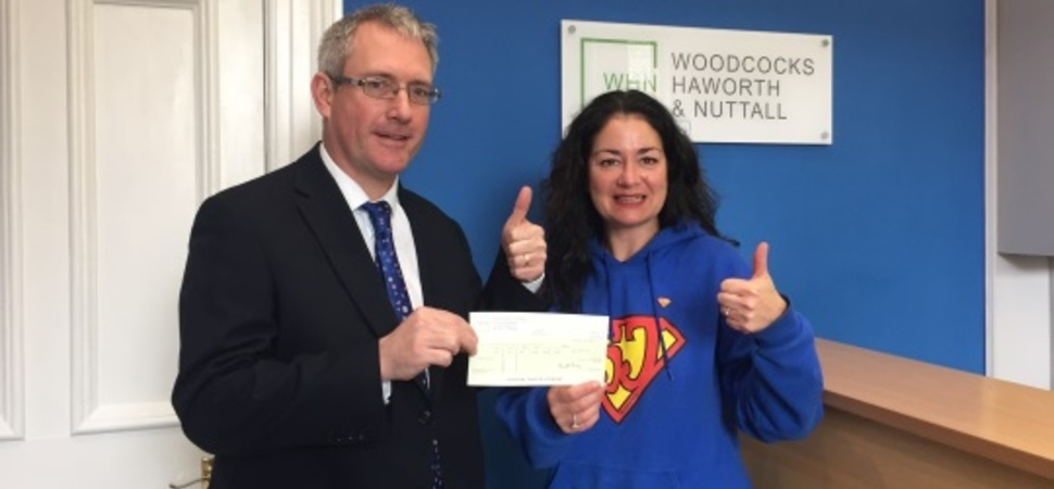 Business brains boost charity funds
