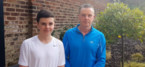 Father and son to run for Greater Manchester children's charity