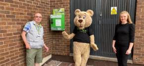 BusinessLodge Stoke installs defibrillator to aid client and community wellbeing