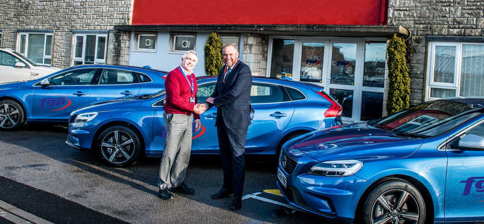 Local Volvo retailer celebrates its business centre sales success