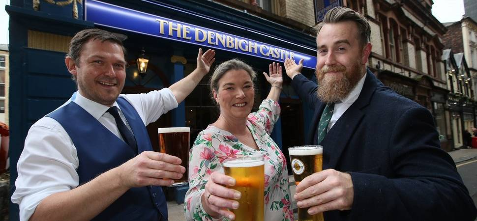 The Denbigh Castle becomes the latest hospitality venture to launch in Liverpool