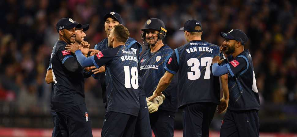 Pattonair congratulate Derbyshire on historic T20 win