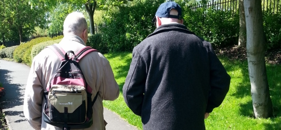 Oldham walking for world without dementia