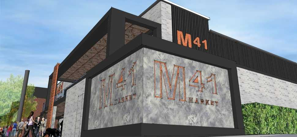 New market food hall in Urmston submitted for planning consent