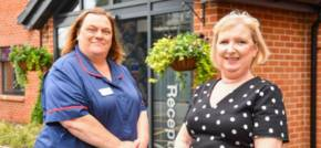 Diane and Debra take the lead at Formby Manor