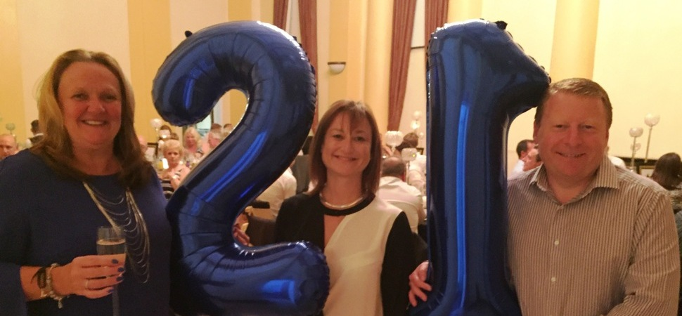 Food Firm Celebrates 21st Birthday